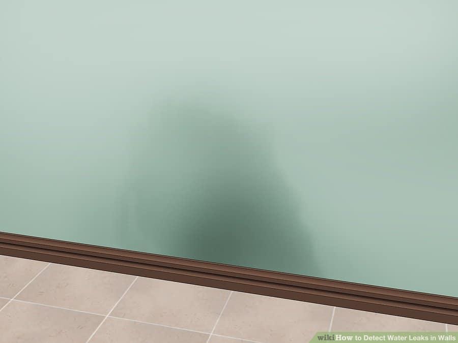 רטיבות בקירות בעקבות נזילה