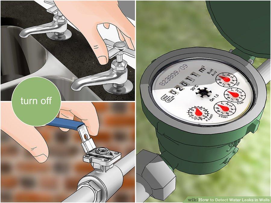 כיצד לאתר נזילת מים?